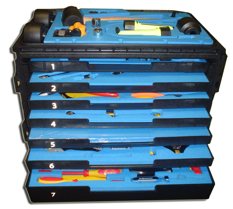 U S Foam Amp Etch Custom Tool Box Foam Etching Kitting