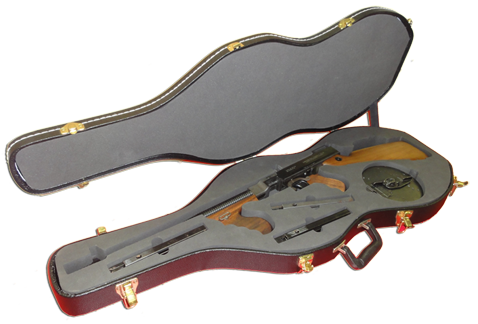 Guitar Case Thompson Machine Gun