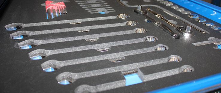 U S Foam Amp Etch Custom Tool Control Foam Laser Etching